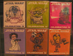 Star Wars Celebration IV Magnets (Jodi K.) Tags: starwars yoda magnets princessleia r2d2 gencon c3p0 characters darthvader chewbacca losangelesconventioncenter starwarscelebrationiv starwars30thanniversary