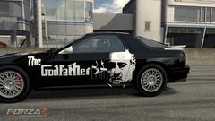 GodfatherRX7Savanna2 (nightbirdds) Tags: custom godfather forza2