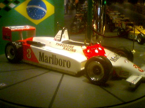 Ayrton Senna car