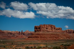 The Valley of the Gods (Eric Gail: AdventureInFineArtPhotography) Tags: valleyofthegods utah landscape ericgail adventuresinfineartphotography sandstone mesa towers formations clouds canon eos70d sky desert southwest red valley bluesky highway163 highway261