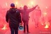 CE Europa- UE Sant Andreu [Estadi Nou Sardenya 27.11.2016] (Fototerra.cat) Tags: futbol fútbol fussballfans supporters ultras uesa ceeuropa santandreu vdg viladegràcia estadi nousardenya derbi nikon nikondf fototerracat panenka barcelona bcn pyro tifo