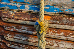 Fishing Boat Patina and Rope, Hastings Beach (Peter Cook UK) Tags: hastings beach fishing patina sussex boat