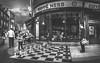 Let's play it big (Dhina A) Tags: canon g7x markii chess blackandwhite black white street