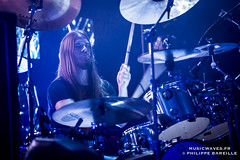 Opeth @ Le Trianon, Paris | 22/11/2016 (Philippe Bareille) Tags: opeth martinaxenrot drummer progressivedeathmetal deathmetal doommetal blackmetal progressivemetal avantguardmetal progressiverock paris france le trianon 2016 music live livemusic show concert gig stage band rock rockband metal canon eos 6d canoneos6d musicwavesfr musicwaves swedish