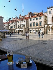 coffee and beer (Z Eduardo...) Tags: beer coffee cafe europe croatia dubrovnic