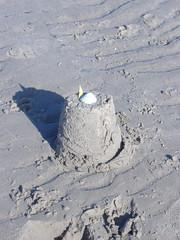 Sandcastle, Crosby beach, Sefton coast (msunderstood299) Tags: seftoncoast crosbybeach