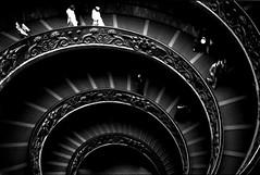 musei vaticani (manuel cristaldi) Tags: fab museum architecture force noiretblanc 500v50f escaleras 2b minox35gt museivaticani viproom ebonyandivory blueribbonwinner linescurves cittdelvaticano top20blackandwhite schwarzweis vaticans