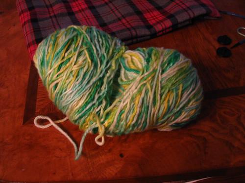 Yarn cocoon
