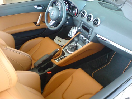 Interior of Audi TT Coupe