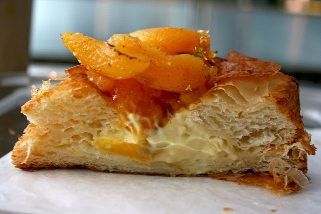 Apricot Elderflower Danish innards