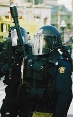 Look at my gun (katerkate) Tags: film ottawa protest police guns shields helmets opp teargas ottawapolice ottawaprotest protestottawa ottawa2001g20 canadag202001 antig20ottawa