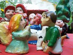 Das sind die kleinen Puppen von