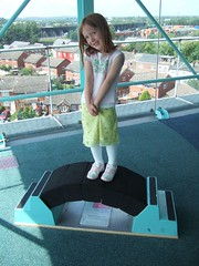 Evelyn on the Arch Bridge (Dave Moodle Dad) Tags: catalyst widnes