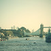Sobre el puente de Londres