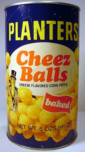 Planters Cheez Balls Container
