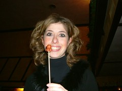 what's on the stick? (daisyboo) Tags: party me smile hotdog manga sausage io daisy octopus sorriso festa wurstel