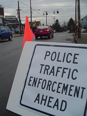 Traffic Enforcement Action NE 7th & Knott