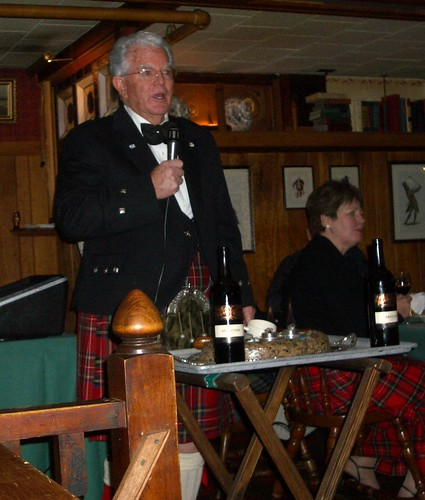 Robert Burns Dinner - Grey & Haggis
