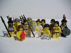 The Twelve Olympians (Dunechaser) Tags: greek lego pantheon greece gods minifig minifigs mythology greekmythology  olympians