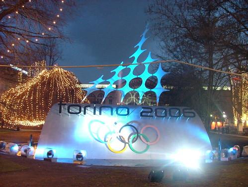 Torino olimpica: Piazza Carlo Felice