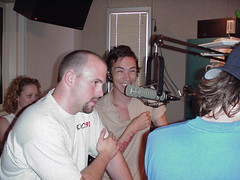 Incubus Interview: Live and On The Air (mrbaseball2usa) Tags: 2001 radio al birmingham live candid sony contest alabama goofingoff vocalist laughter incubus interview radiostation leadsinger brandonboyd birminghamal bmg frontman alternativerock altrock sonybmgmusic liveinterview dirklance alexkatunich bradbradley rock973 brandyhunter