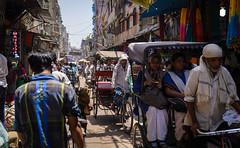 Delhi (Ash and Debris) Tags: delhi street people city traffic urbanlife indians cyclist urban citylife india life man newdelhi rickshaw streetlife indian cycle