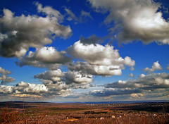 Tableland (Nicholas_T) Tags: winter sky clouds rural landscape hiking pennsylvania plateau creativecommons poconos bluemountain appalachianmountains stratocumulus monroecounty kittatinnymountain delawarestateforest pimplehill tunkhannocktownship