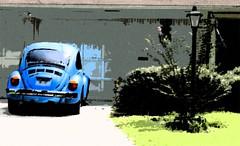 Blue Beatle (DrFizzle) Tags: blue car beatle