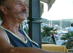Franco Michela, with mustaches (Snazzo) Tags: 2005 mediterranean croatia vis franco vacanze holyday snazzo