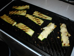 Courgettes Grilles (tchatchke) Tags: dinner grilledzucchini asiago cheeseabuse