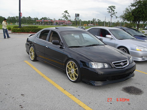 SOLD TL Part Out Part OEM Lip Kit WW Rear TEIN SS AEM - 99 acura tl front lip