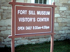 Fort Sill Museum Visitor's