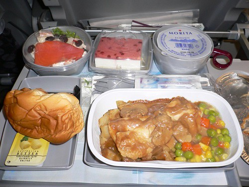Dinner@Qatar Airways