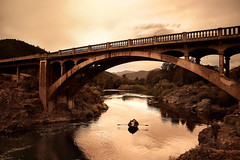 The Golden Gate of Gold Hill (| HD |) Tags: bridge 20d rio del oregon canon river gold boat interestingness fishing bravo personal hill favorites southern favourites romantic hd rogue favs darwish hamad
