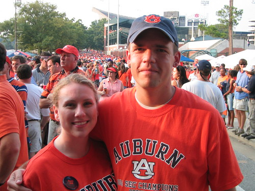 Me and Katy at TigerWalk