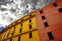 Living in Rome (Gianni Dominici) Tags: 2005 city urban italy rome roma topf25 colors topv111 canon 350d interestingness topf50 topv555 topv333 italia topv999 interestingness1 august topv777 sanlorenzo topv666 topv888 4egiannid 4earia architetturaromamor periferiaromamor