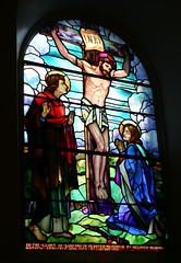 The Crucifixion of Our Lord (Seoirse) Tags: glass saint john christ mary stained virgin explore inri spirituality crucifixion blessed