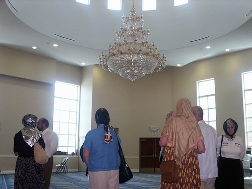 Open Mosque Day at IIOC on August 21, 2005