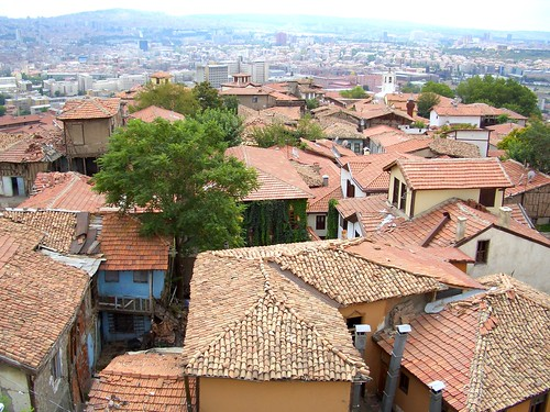 View from the Ankara Castle