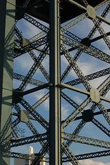 finnieston crane (biotron) Tags: glasgow finnieston crane stobhill quay finniestoncrane pattern diagonal structure erection shipbuilding