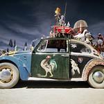 vw beetle art car