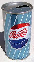Pepsi Cola Soda Can, 1960