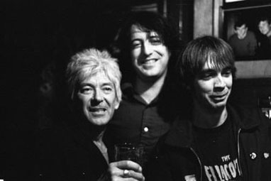 Ian McLagan and two Forty Fives
