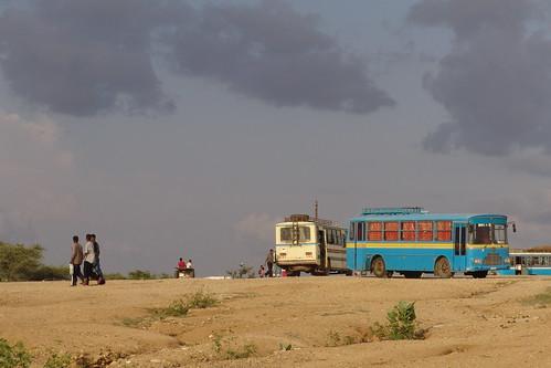 Bus station, Barentu