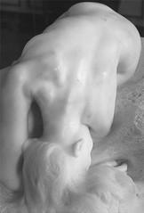 Estatua de Rodin / A statue by Rodin