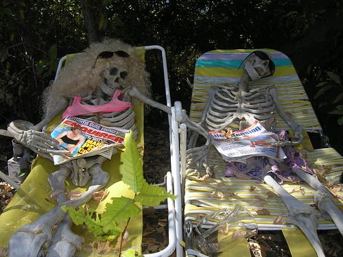 Suntanning Skeletons