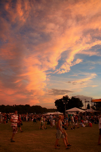 Austin City Limits Festival - Sunsetting by lannadelarosa.
