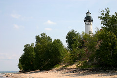 lighthouse2 (sumbler) Tags: sumbler superior 12milebeach twelvemilebeach beach michigan up upperpeninsula picturedrocks greatlake lighthouse