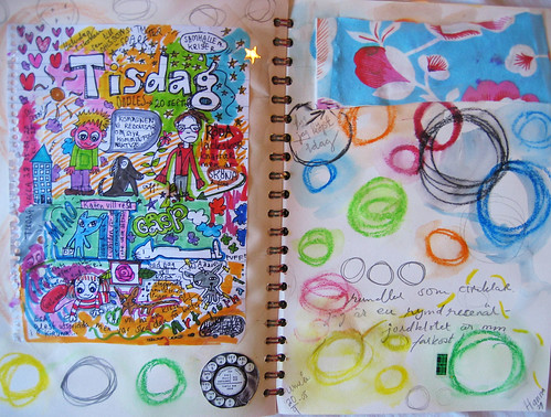 Doodles and Tom Judd inspiration (Copyright Hanna Andersson)