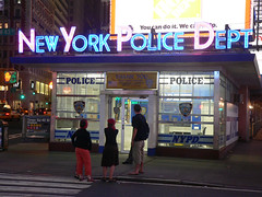 NYPD p� Times Square by Stig Nygaard, on Flickr